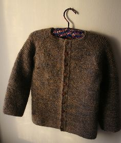 pattern 'Crocus' by Helga Isager 4 yr size Ravelry.com