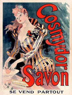 Cosmydor Savon Poster Print Vintage Belle Epoch Poster Art