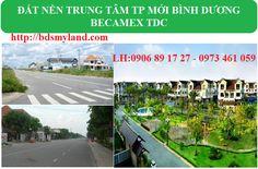Becamex TDc Bình Dương mở bán đất nền Phú Chánh D -