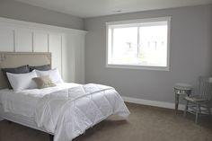 Bedroom Benjamin Moore Revere Pewter 50 Percent Strength