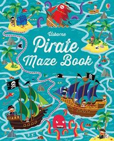 Sail the seven seas, surviving shipwrecks and hoarding untold riches as you plunder your way through the treasure trove of mazes in this book. Lots of amazing pirate mazes, each one completely different from the one before. Many of the mazes contain extra puzzles to solve and challenges to complete en route, and the mazes get gradually more and more difficult throughout the book, pushing children to develop their problem-solving and visual recognition skills. For ages 6+