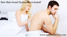 How Male Sexual Dysfunction is treated?
