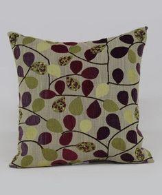 Look at this #zulilyfind! Mulberry Bayberry Throw Pillow by Brentwood Originals #zulilyfinds #FluffyPillow