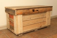 Storage/Blanket Box.  Aware Industries skilled staff are now making furniture from recycled furniture from recycled timber pallets. Visit our website today for further details and to see other items available www.awareindustries.com.au