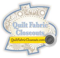 Quilt Fabric Closeouts  ~ Looks like a good on-line place to buy quilt fabric.