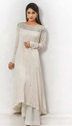 simple dress. Pret Wear Collection 2013 By Umar Batul  Pinned by Zartashia