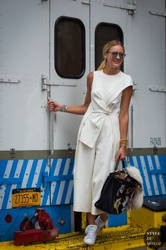 New York Fashion Week SS 2016 Street Style: Nina Suess Pinterest: KarinaCamerino