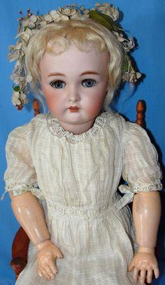 Beautiful Antique Kammer & Reinhardt Bisque Doll  Found on Ruby Lane