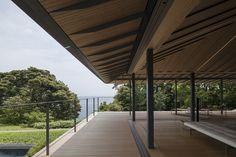 // by Kengo Kuma + Associates. Tropical Architecture, Sustainable Architecture, Contemporary Architecture, Architecture Design, Ancient Architecture, Landscape Architecture, Japanese Interior Design, Interior Design Images, Interior Design Boards