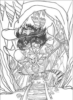 Pix For Harry Potter Quidditch Coloring Page