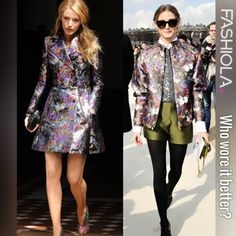 Who wore it better: Blake Lively vs Olivia Palermo?