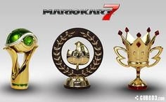 Club Nintendo's prizes suck in comparison to Europe's... Check out these trophy replicas available for 5000 stars