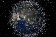 Week 10: Earth from space, with space debris (enhanced)