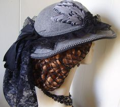 civil war dress hat