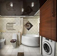 Hogyan helyezheted el a mosógépet praktikusan ha kicsi a fürdőszoba - 21 ötlet