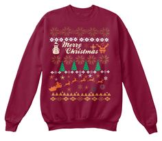 Best Christmas Sweaters Limited Edition Cardinal Sweatshirt Front