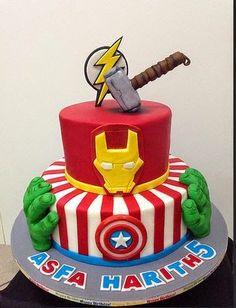 Avengers Birthday Cakes