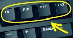 Sai a cosa servono i tasti sulla tastiera del computer? Computer Help, Best Computer, Computer Keyboard, Computer Tips, Internet Tv, Phone Hacks, Tips & Tricks, Good To Know, Helpful Hints