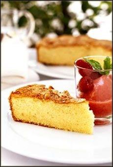 Honey Sponge Cake for Rosh Hashanah.