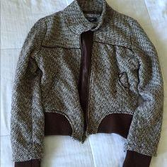 Brown jacket Warm brown jacket with pockets Jackets & Coats