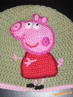 Háčkované prasátko Peppa Pig