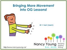 How To Incorporate Movement Into Orton-Gillingham Lessons
