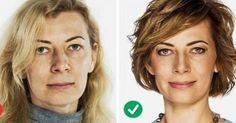 Πώς να χτενίζεστε για να δείχνετε 5 χρόνια νεότερη Haircut And Color, Beauty Hacks, Beauty Tips, Health Fitness, Hair Cuts, Hair Beauty, Make Up, Natural Beauty, Hairstyles