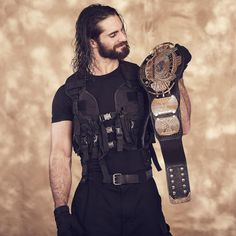Check out photos of WWE Superstars like Finn Bálor, Seth Rollins, Bayley and more striking a pose with some of the most beloved championship titles in WWE history. Wwe Seth Rollins, Seth Freakin Rollins, Wwe Quotes, Wwe 2, Champion, Best Wrestlers, Kenny Omega, Wwe World, Wrestling Superstars