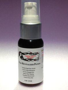 Organic Hair Revitalizer Potion by VOODOOROOTSORGANICS on Etsy