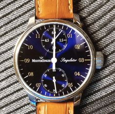Meistersinger Singulator Watch Review wrist time watch reviews!