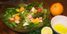 Knackiger Wintersalat - Rezept-Tipp - Vitamine im Winter: Unter diesem Motto hat die TK einen knackigen Salat zubereitet.