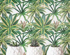 Watercolor Cactus Wallpaper Removable Wallpaper by Jumanjii