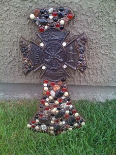 Beautiful custom made wall crosses by katbird06 on Etsy