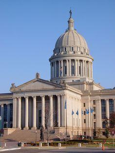 Oklahoma State Capitol Detail (Oklahoma City, Oklahoma)
