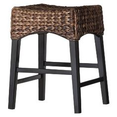 Seagrass Swiveling Counter Stools Furnishings