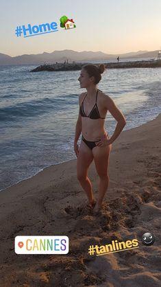Alize Cornet Tennis Players, Cannes, Bikinis, Swimwear, Celebrities, Hot, Nice, Fashion, Glamour