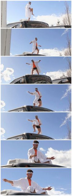 [gifset] I will find every version of this and pin it! Why...b/c of legs!!!  And also, because he catches that fly and lets it go. Jensen Ackles in the SPN Mockumenary.