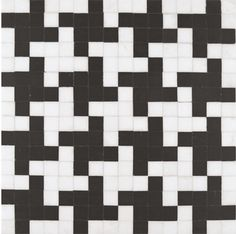 more houndstooth tile. this will happen.