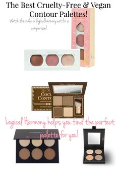 Find the perfect #crueltyfree and #vegan contour palette for you on Logical Harmony!