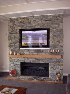 speights fire place Home Fireplace, Fireplace Remodel, Tv Over Fireplace, Living Room With Fireplace, Fireplace Mantels, Fireplace Design, Fireplace Makeovers, Fireplace Ideas, Open Basement