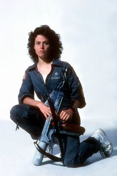 "Sigourney Weaver - publicity still for ""Alien"" [1979]"