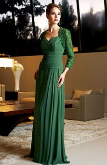 There are great color options for this MOB dress and the material is light so that and older woman would feel comfortable in this as well. Great dress.