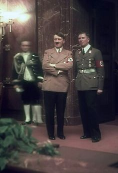 Hugo Jaeger is the former personal photographer of Adolf Hitler. He travelled with Hitler in the years leading up to and throughout World War II and took around 2,000 colour photographs of the Austrian-born German politician. Jaeger was one of the few photographers who were using color photography techniques at the time.