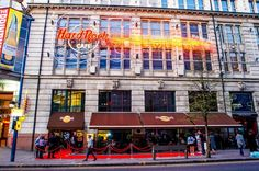 Hard Rock Cafe Manchester The Hard Rock Cafe Manchester is the largest in the UK, doubling up as a live music and events venue at the iconic Printworks as well a much-loved American diner. Head past the table lines with a skip-the-line ticket, and enjoy either a 2- or 3-course American-style meal while admiring the stash of rock 'n' roll memorabilia. The cafe is home to impressive items that once belonged to some of the world's rock legends such as a Arctic M...