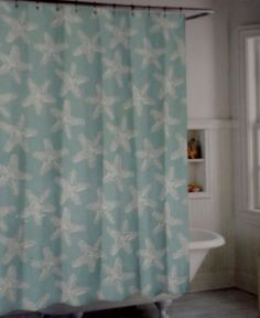 Found It At AllModern   Starfish Polyester Shower Curtain | Yea. Shower  Curtains.... | Pinterest | Starfish, Showers And Curtains
