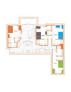 8 best floorplans images auburn floor plans house floor plans rh pinterest com
