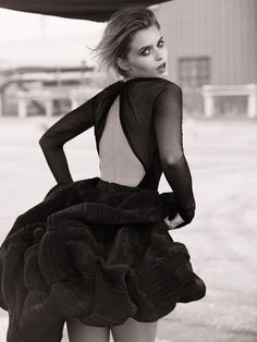 """Abbey Lee Kershaw in """"Boyhood""""by Will Davidson for Vogue Australia, May 2015"""