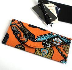 Afro Woman Black Sunglasses African American Coin Pouch Clutch Purse Wristlet Wallet Phone Card Holder Handbag