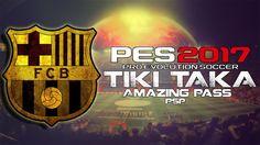 PES 17 PSP • FCB • Tiki Taka Amazing pass • ᴴᴰ