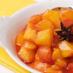 Peach Compote - Oui, Chef